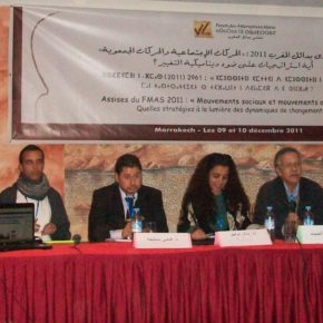 "Marrakech meeting: ""What strategies for social movements in light of dynamic changes?"""