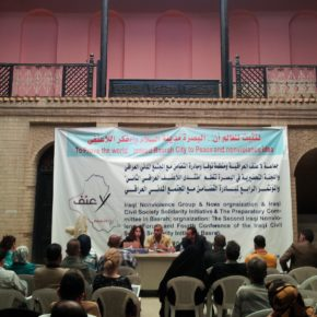 Fourth Conference of The Iraqi Civil Society Solidarity Initiative (ICSSI) - Basra October 2012