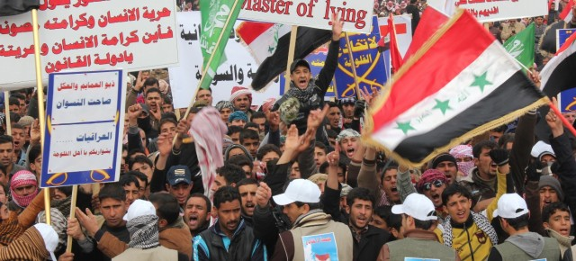ICSSI Supports Popular Protests in Iraq  Demanding an End to Corruption, Sectarian Conflict and Injustice