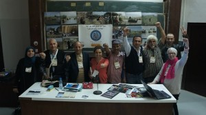 Global solidarity against Ilisu and other dams at the World Social Forum 2013 in Tunis.