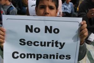 No for PMSCs in Basra