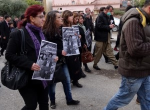 Suleymaniah Protest after Assassination of Journalist Kawa Germiyani