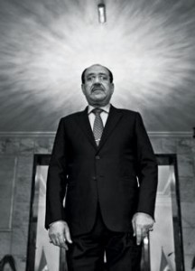 Prime Minister Nuri al-Maliki is seeking a third term. Many Iraqis fear another civil war, and think that Maliki is to blame. Photograph by Moises Saman.