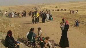 النازحون من الموصل