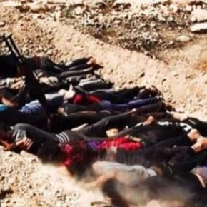 Islamic State of Iraq and Syria (ISIS) conducted mass executions in Tikrit