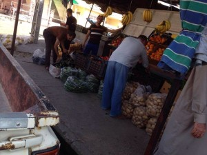 Markets are open in the city of Mosul
