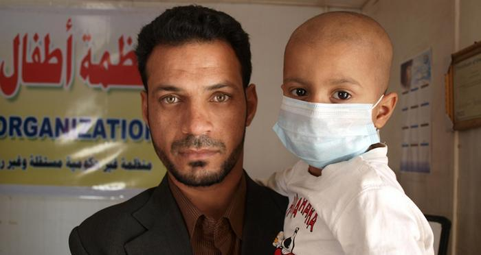 طفل-مريض-سرطان