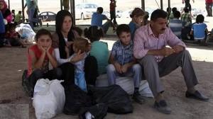 طلاب نازحين - الموصل
