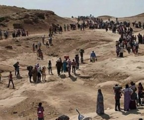 The Trapped Yezidis in the Sinjar Mountains Represent a Humanitarian Disaster!