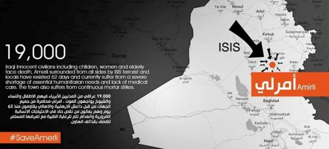 Iraqi Turkmen in Danger, Rescue Amerli!