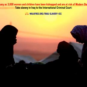 Take slavery in Iraq to the International Criminal Court