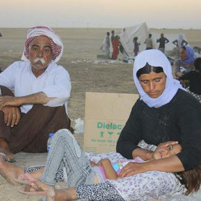 Help the Displaced Yazidi People from Sinjar!