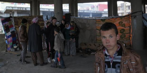 Around 120,000 internally displaced people are currently living in camps in Dohuk governorate.