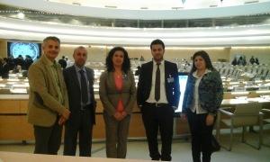 Yasser Salem - UPR Iraq- Geneve 2014