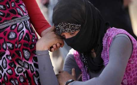 Azidi women fleeing for fear of kidnapping by Daash