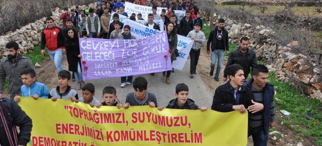 Ilisu Dam Protest Close to The Dam Site!
