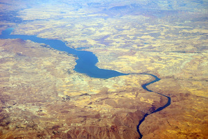 Euphrates River below the Keban Dam, Turkey