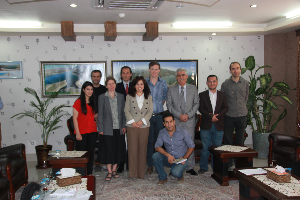 Advocacy Meeting with the General Directorate of Dams and Reservoirs in Erbil, May 11 2015.