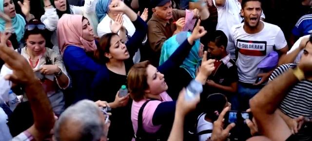 Videos on demonstrations in Baghdad