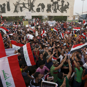 Iraqis protest Corruption, Lack of Services while Politicians Blame Everyone but Themselves!