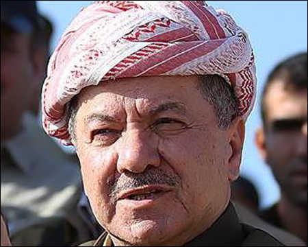 Iraqi Kurdistan president Massoud Barzani
