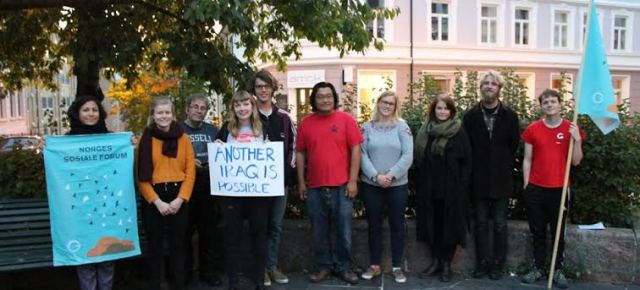 Solidarity message from the Norwegian Social Forum!