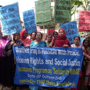 In solidarity with Iraqi civil society: an overview of the Extended Iraqi Social Forum