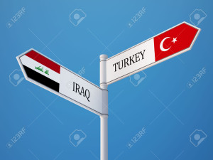 Turkey-Iraq-High-Resolution-Sign-Flags-Concept-Stock-Photo