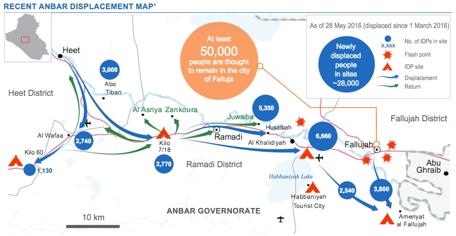 Anbar displacement map