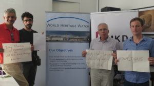 With Stephan Doempke, director of World Heritage Watch