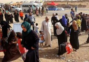 "Civilians Fleeing Fallujah ""Facing Double Jeopardy"""