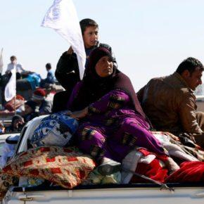 Iraq: Daesh Attacking Civilians in Mosul Retreat