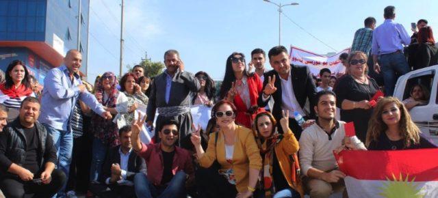 In Iraqi Kurdistan, Demonstrations Continue