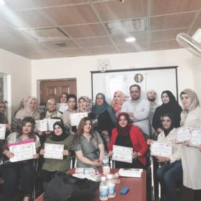 Seventeen Activist Get Together in Baghdad to Discuss and  Improve  their Personal Protection During their Daily Work as Defenders of Human Rights