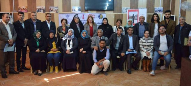 Iraqi Women Journalists Meet in Basra to Discuss challenges Faced by Women Journalists and Human Rights Defenders