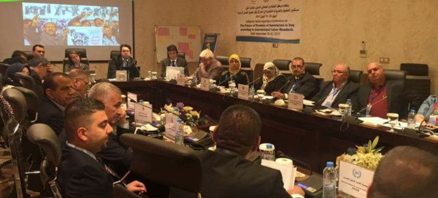 Iraqi Trade Unions Proceed With Their Complaint to the International Labor Organization