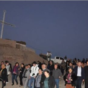 IRAQ – Holy Week multi-faith Peace March from Erbil to Alqosh