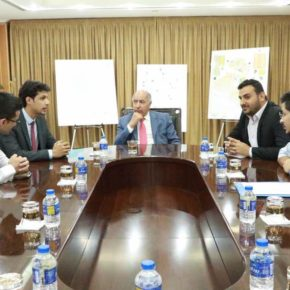 Water Activists Meet Privately with the Minister of Water Resources, Dr. Hassan Al-Janabi