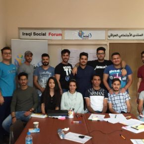ISF Interpretation Team Volunteers Take on Economic and Social Rights