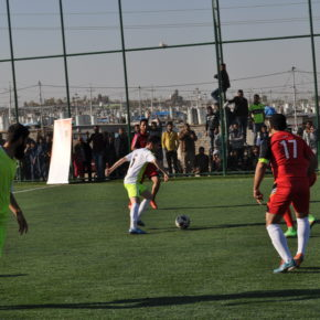 Football Tournament For Social Cohesion Takes Place In the Arbat Refugee Camp