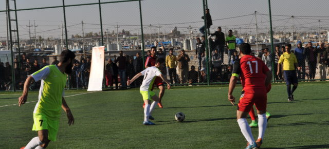 First Annual Football Tournament For Social Cohesion Takes Place In The ARBAT Refugee Camp