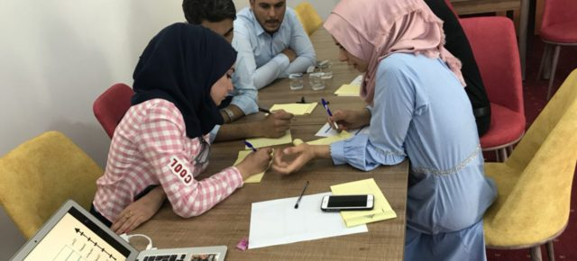 The ISF Offers a Campaign Development Training to Youth in Falluja and Ramadi