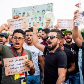 Protests in Southern Iraq Intensify as Demonstrators Stage 2 Sit-Ins on Site at Oil Fields Run by Exxon Mobil and Eni — Armored Vehicles Deployed in Response