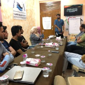 """I Love Dhi Qar"" Forum Holds a Training Workshop on Human Development"