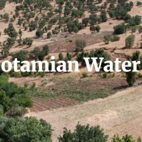 First Mesopotamian Water Forum Announced for Sulaymaniyah March 2019 – Call for Contributions!