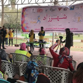 The Celebration of International Women's Day in Iraq at Shahrazad Festival