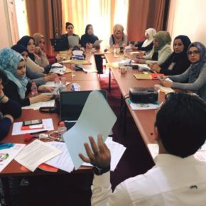 The Iraqi Social Forum and the Solidarity Center organize series of women's trade union activities on the occasion of the International Women's Day