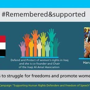 Hanaa Edwar:A Defender of Human Rights & Freedom of Expression