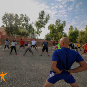 A Camp by Sports Against Violence Brings Together Iraqi Youth