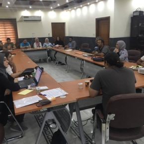 Creating a Safe Environment for Iraqi Activists and Human Rights Defenders — an ICSSI Training in Baghdad